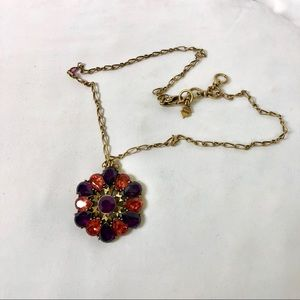 Lucky Brand Rose Window Necklace